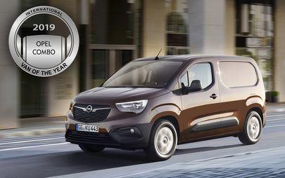Yeni Opel Combo 2019 Uluslararası Yılın Ticari Aracı Ödülünü Kazandı